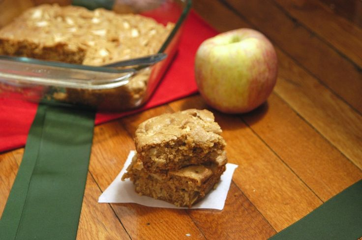 Peanut Butter Apple Bars | Favorite Recipes | Pinterest