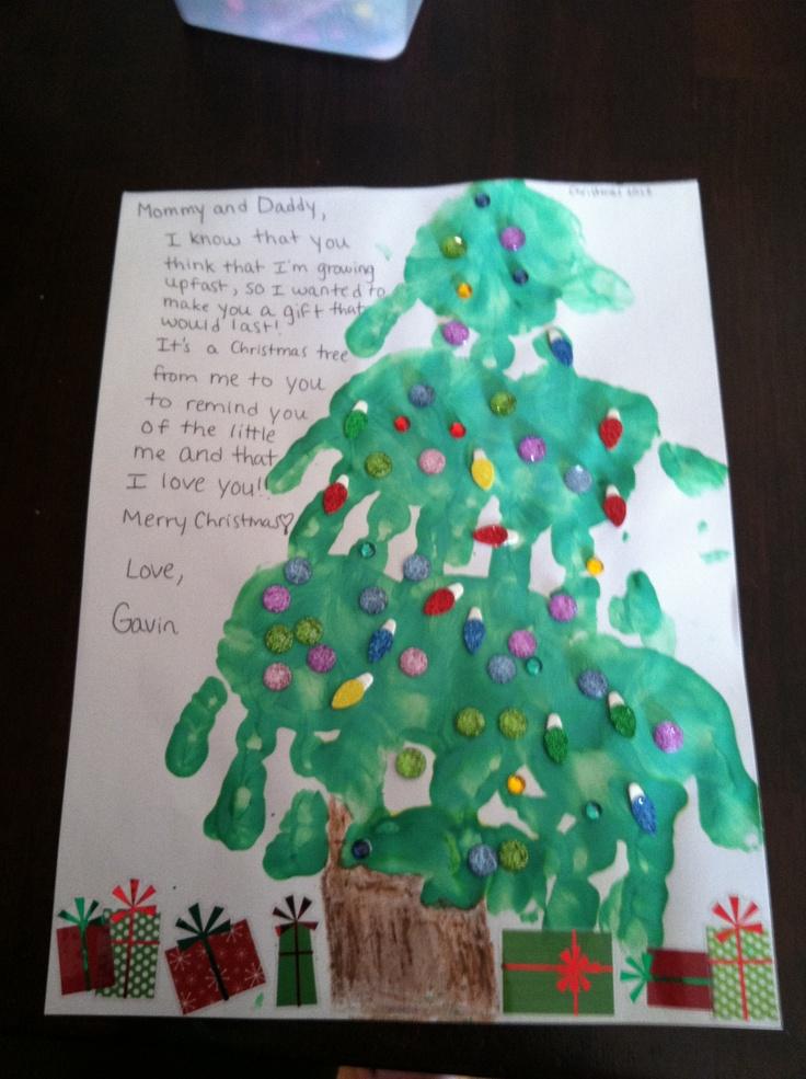 christmas tree handprint poem - photo #3