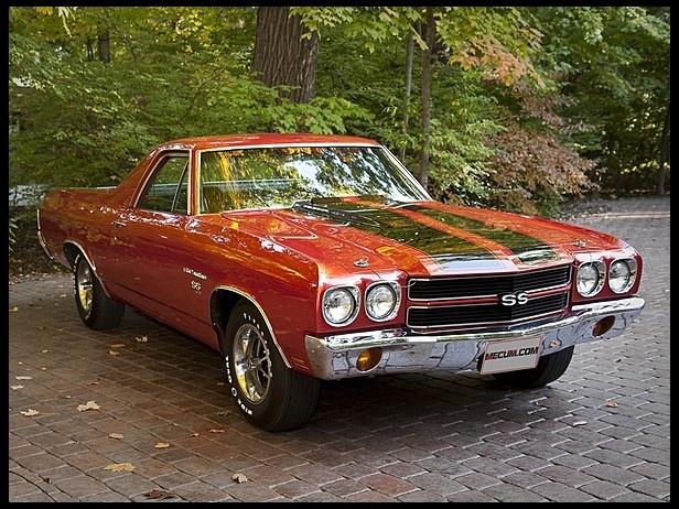 1970 Chevrolet El Camino SS 454 | Nice Ride | Pinterest