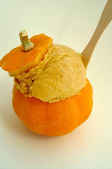 Pumpkin Ice Cream | holiday fun | Pinterest