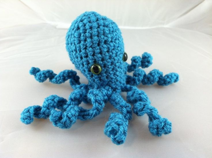 Amigurumi Octopus Mohu : Amigurumi Octopus Craft Ideas Pinterest