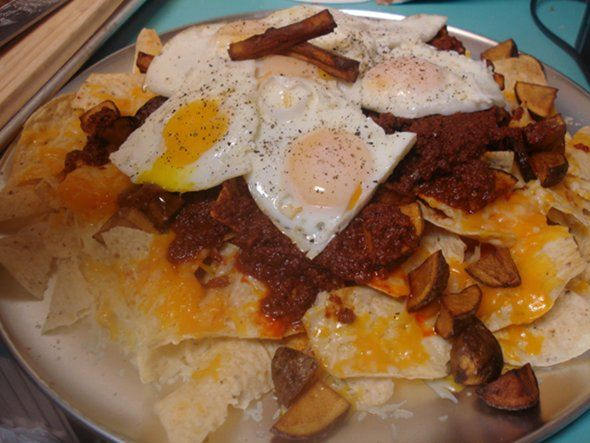 Breakfast Time: Beef Chorizo Breakfast Nachos