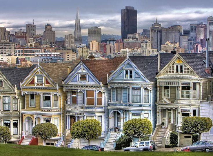 Victorian houses of san francisco usa pinterest for San francisco victorian houses