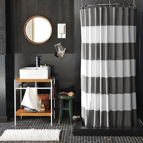 Yellow And Black Shower Curtain TJ Maxx Shower Curtains