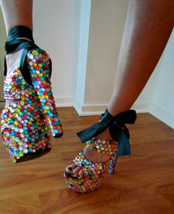 Туфли своими рукам 56