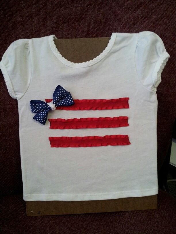 fourth of july shirt diy