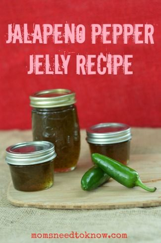 up the last of the peppers in your garden? This jalapeno pepper jelly ...