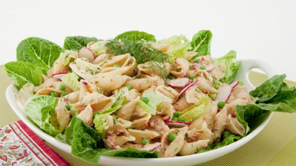 Salmon Macaroni Salad   recipes   Pinterest