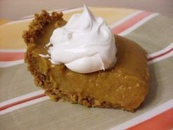 Pumpkin Icebox Pie -- No Baking Required! #Thanksgiving #recipes