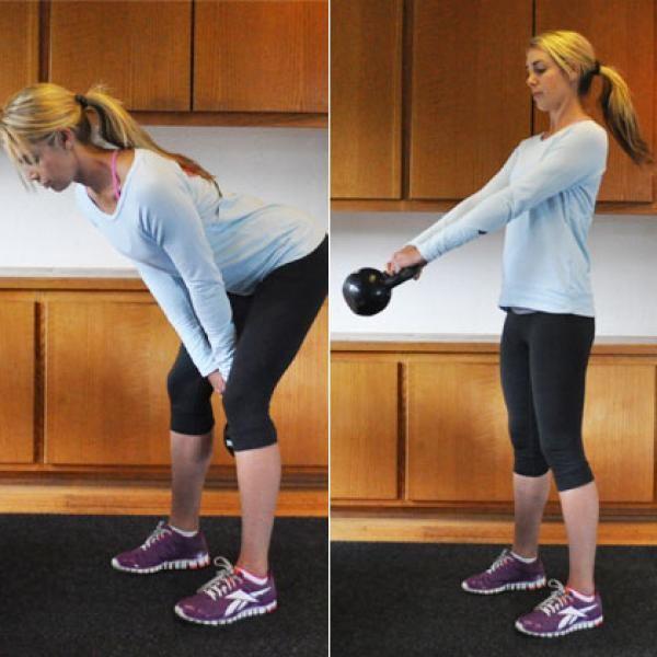 20 Minute Full Body Kettlebell Shred: Kettlebell Workout: Burn 20 Calories A Minute