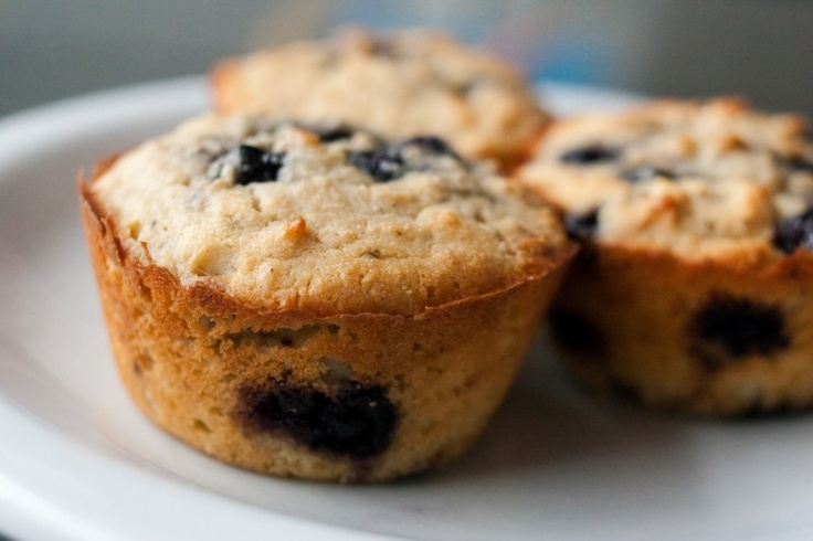 Browned Butter Blueberry Muffins. Power up for less than 5 carbs each!