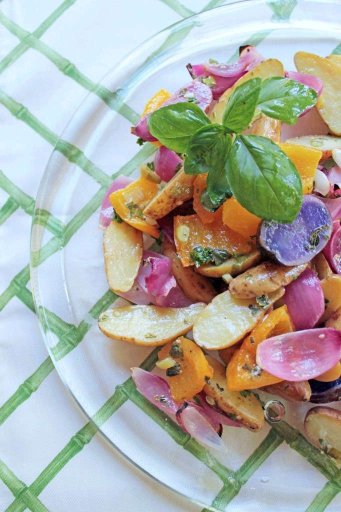 Grilled Fingerling Potato Salad with Herb Vinaigrette by Wilmington's ...