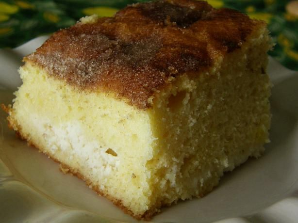 Easy Melt in your mouth Ricotta cake. Made this today using lemon cake ...