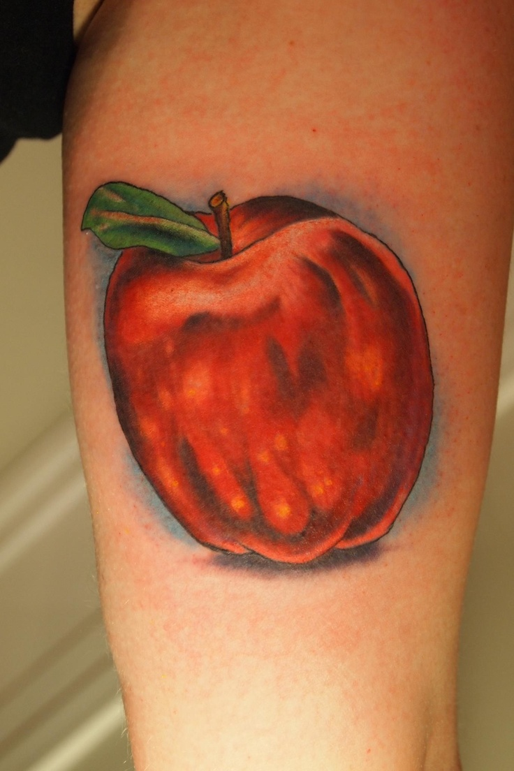 still life apple tattoo i made tattoos it 39 s what i do