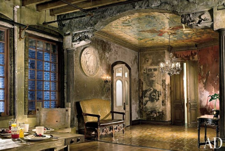 Gerard Butler's home is stunning, via Architectural Digest