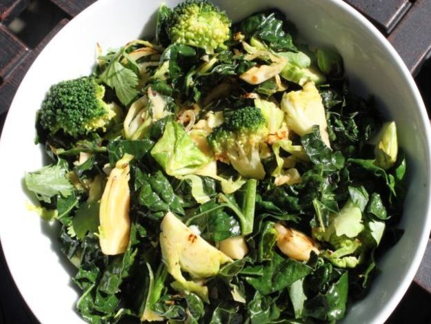 Easy Stir-Fried Broccoli and Brussels Sprouts | Serious Eats : Recipes