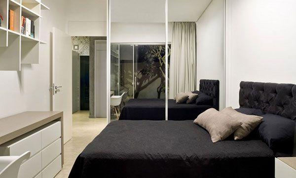 desain interior rumah mungil minimalis bedroom design