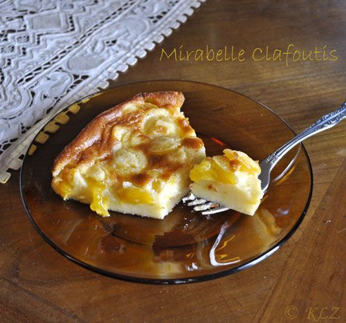 Mirabelle Clafoutis - use any stone fruit, this is such an easy ...