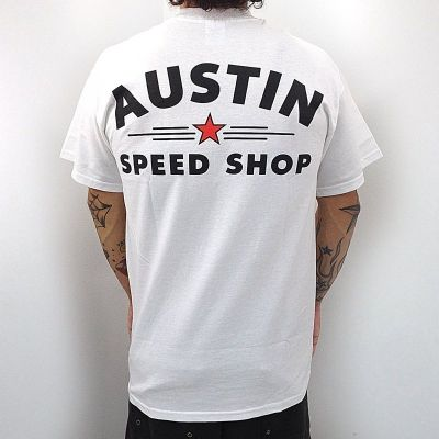 Find great deals on eBay for austin speed shop shirt. Shop with confidence. Skip to main content. eBay: Shop by category. Austin Speed Shop Jesse James TX T Shirt Hot Rod Rat Biker Monster Garage Cars M. Pre-Owned. $ FAST 'N FREE. or Best Offer. Estimated delivery Sat, Oct