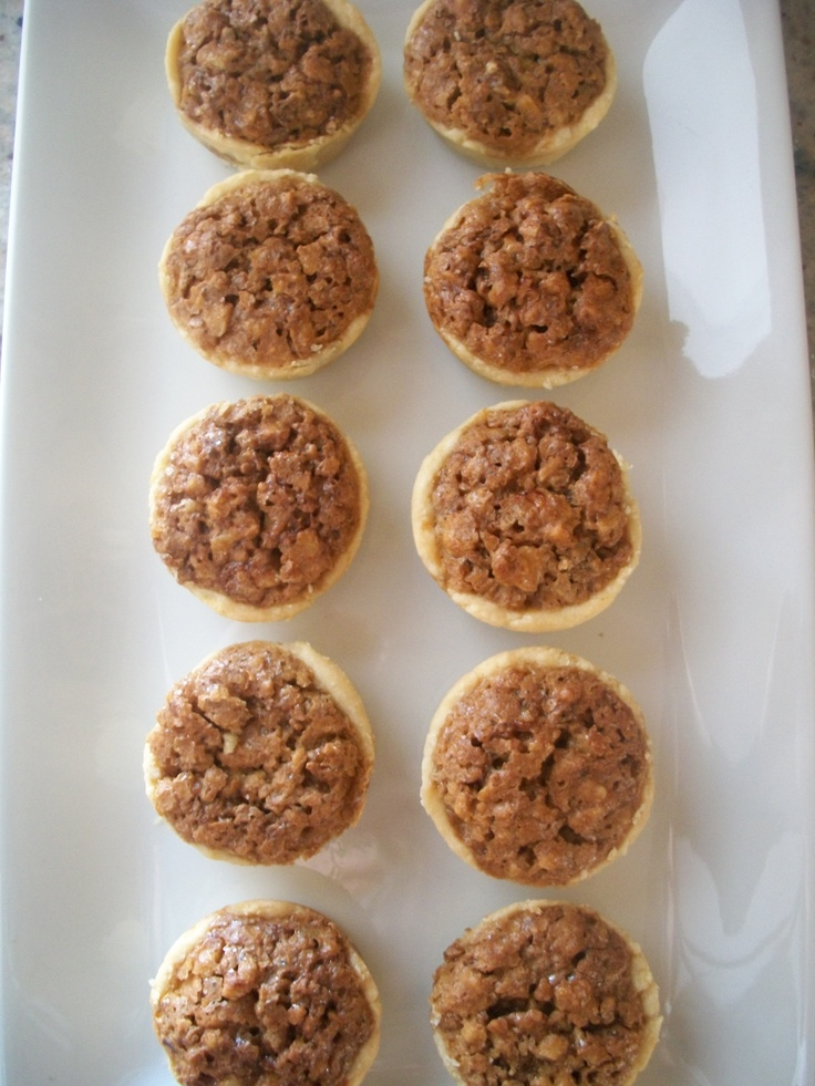 Pecan Nut Cups | Cake and dessert | Pinterest