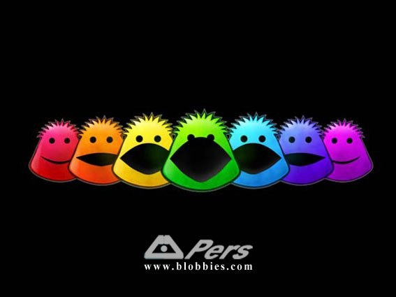 The Blobbies by Pers!