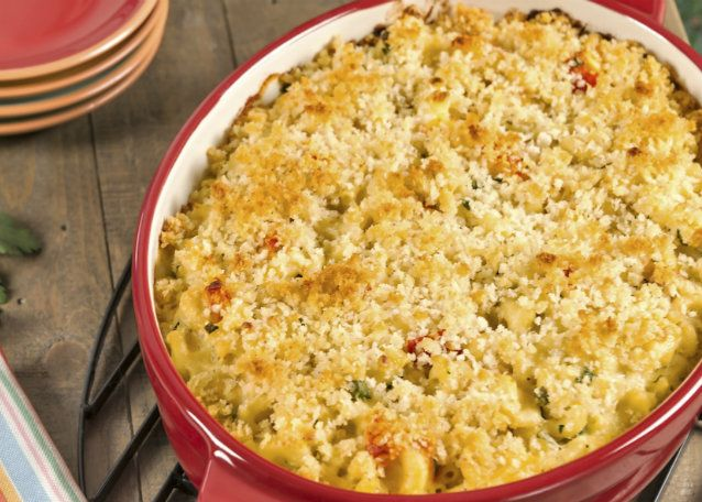 Vegetable Mac & Cheese Casserole | Vegetable Recipes | Pinterest