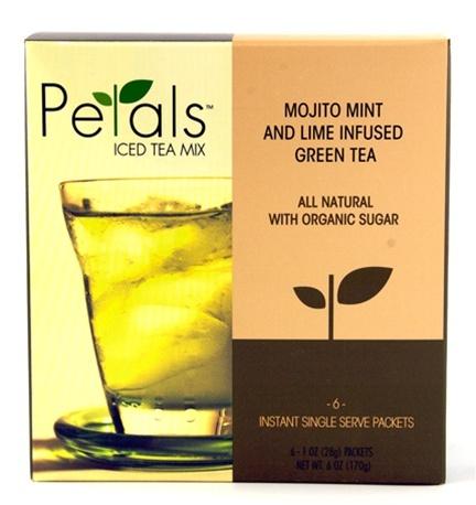 ... tea!!! Petals Iced Tea MIx: Mojito Mint and Lime Infused Green Tea