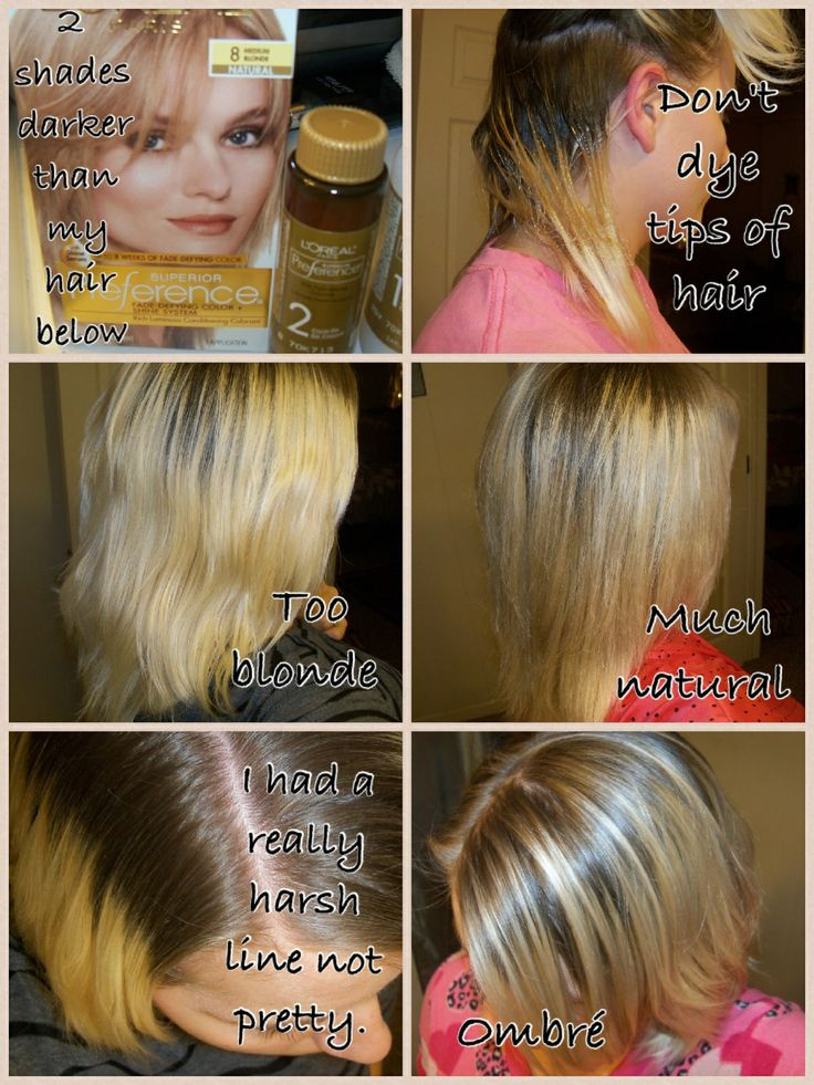 How To Go From Light Blonde To Medium Blonde Using Loreal Preference Don3