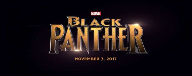 Logo for Marvel's Black Panther movie that was announced yesterday