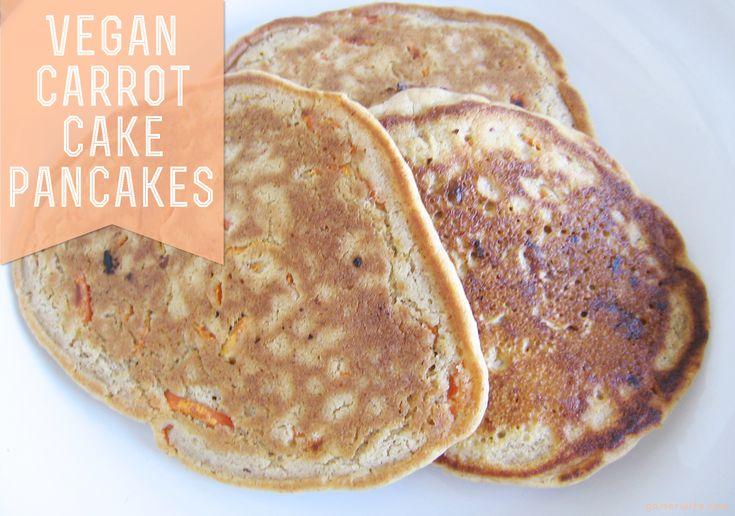 Carrot cake pancakes | Pancakes and waffles | Pinterest