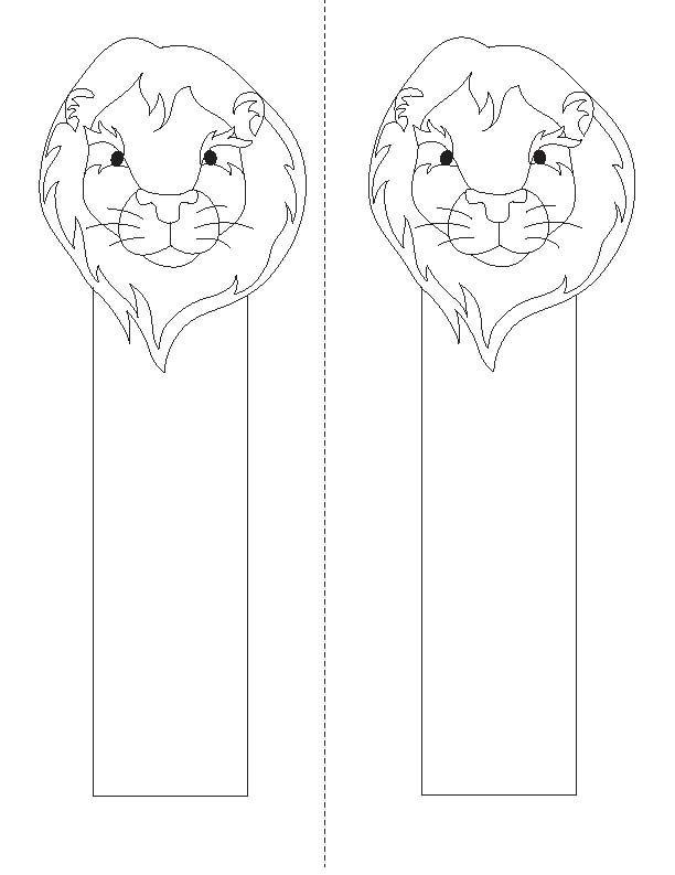 Animal Bookmarks Colouring Pin By Kathleen Shirfrin On June Is National Zoo And