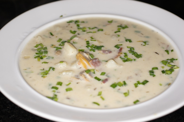 New England Clam Chowder | Soups - Gluten Free | Pinterest