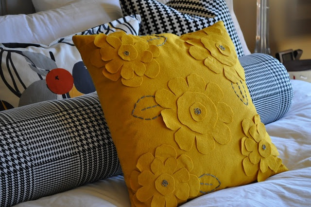 Pottery Barn Knock Off Pillow | DIY Handmade/Homemade | Pinterest