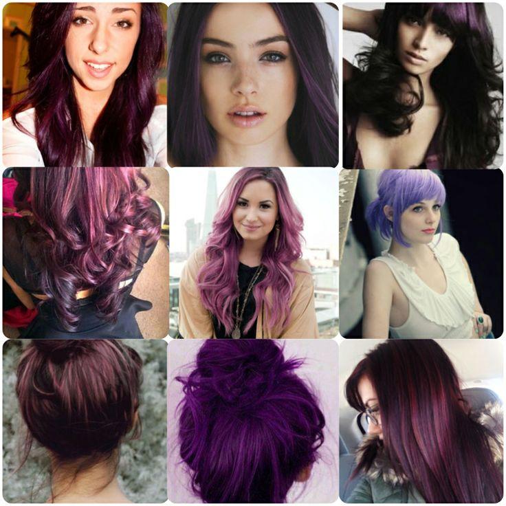 Violet hair! | Hair! | Pinterest