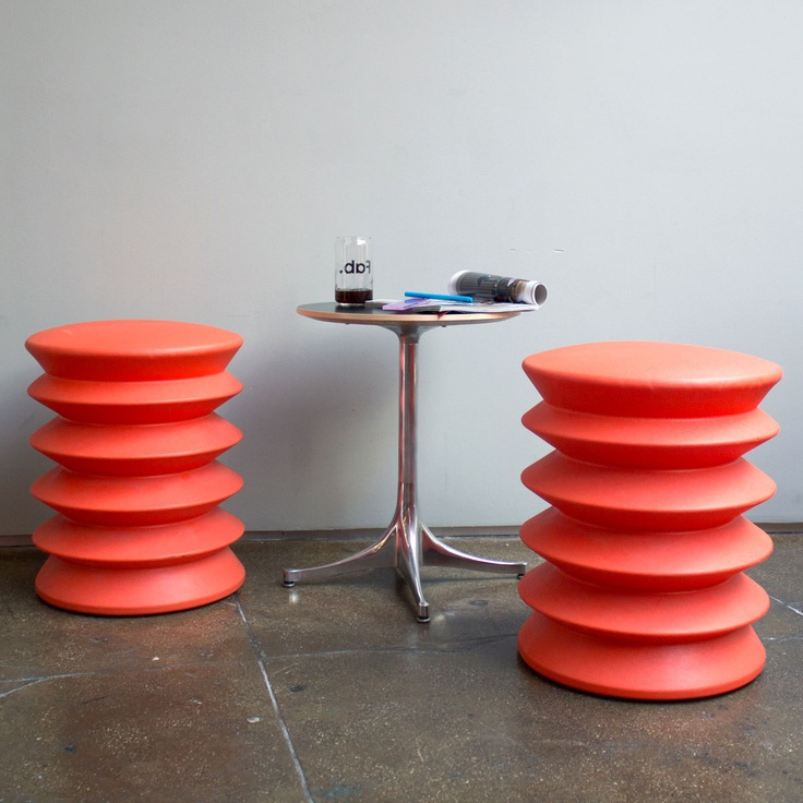 Ergo Chair that builds core while sitting. Just looking at these makes me smile