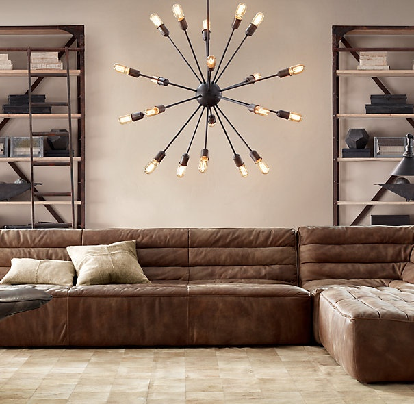 sputnik chandelier restoration hardware house ideas. Black Bedroom Furniture Sets. Home Design Ideas