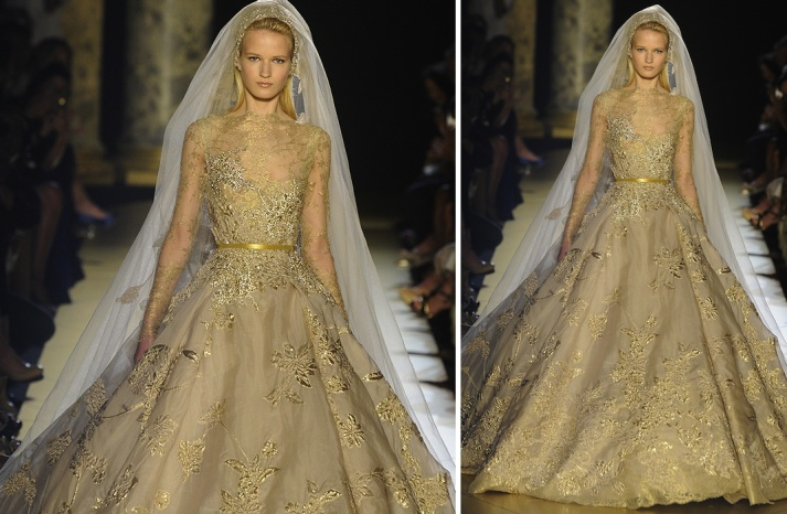 Serious bridal beauty coming down the Fall 2012 couture runways, love this gown from @ElieSaabWorld