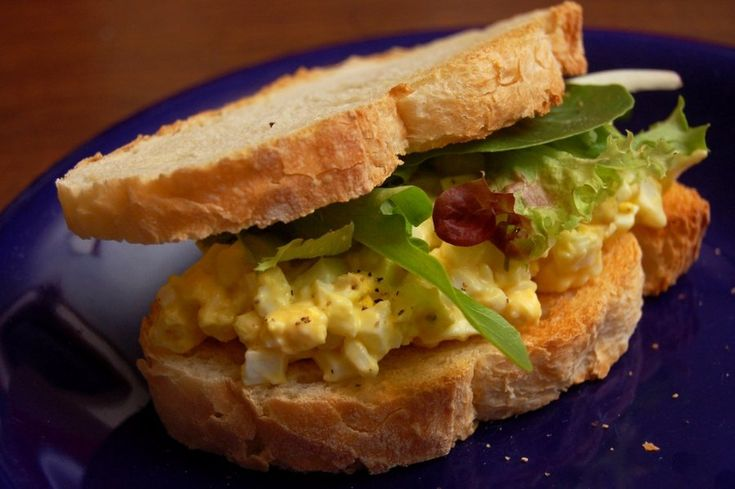 Best Basic Egg Salad Recipe | Cooking | Pinterest