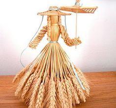 Поделки из пшеницы своими руками фото