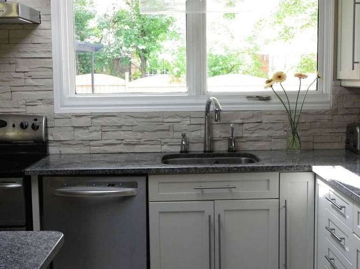 stone backsplash master craftsman pinterest