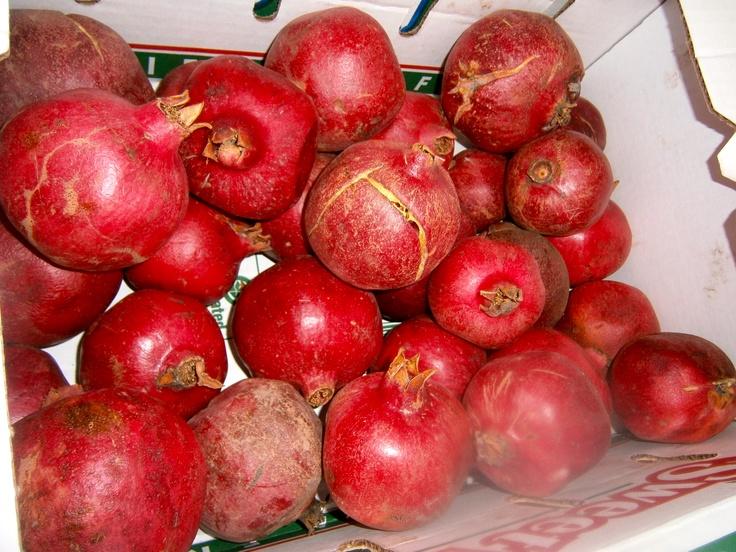 Fresh Pomegranates on the farm | Food & Drink | Pinterest Pomegranates