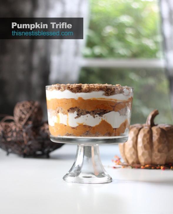 Pumpkin Trifle   Desserts   Pinterest