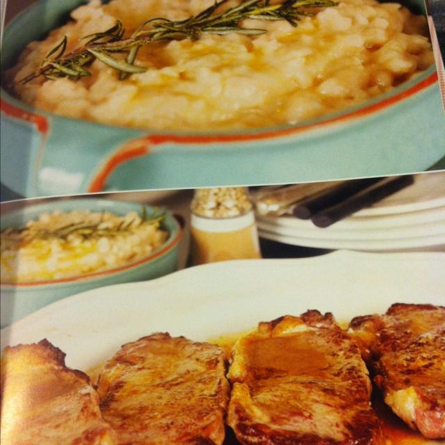 Flash fried steak with white beans mash (Nigella express p140)