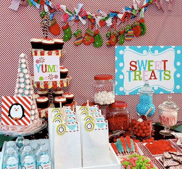 Winter onederland party birthday ideas pinterest
