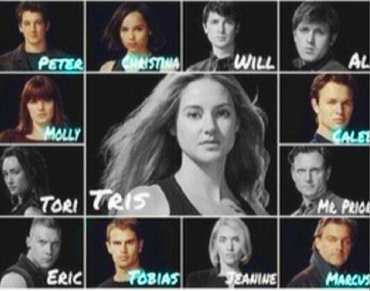 Divergent cast | Divergent | Pinterest