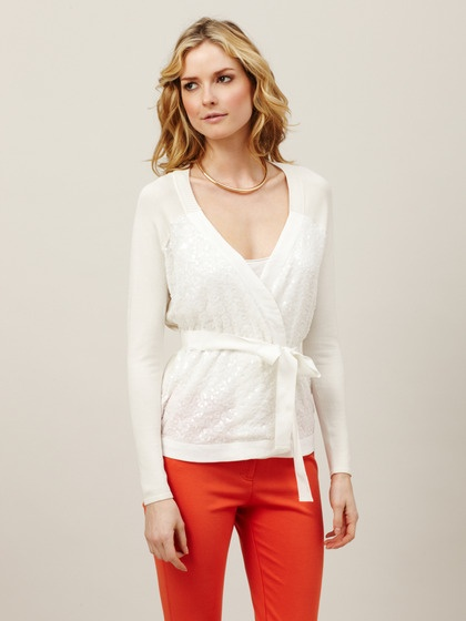 This long sleeve Pringle of Scotland cardigan is rendered in cashmere merino wool and features a wrap style with v-neckline and a sash at the cheswick-stand.tk: $