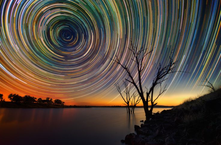 amazing star trails