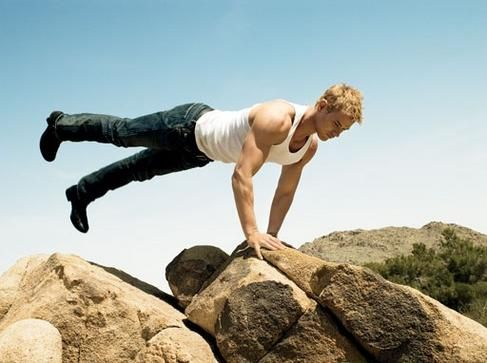 Kellan Lutz didn't get cut by just sitting on the sofa. Use THIS routine for 4 weeks and you'll be on your way to looking as fit as an action star.
