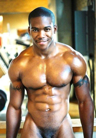 Muscular Black Hunk Banging Latino Boyfriend