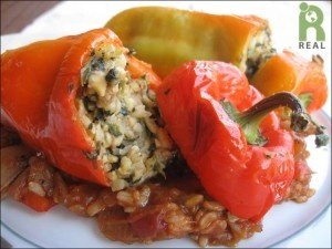 Stuffed Red Italian Peppers Tuscan Style | REAL Recipes: Main Dishes ...
